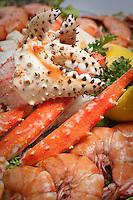 Shell fish, the Alaska Fish House, Ketchikan, Alaska