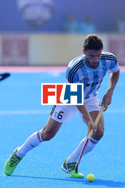Odisha Men's Hockey World League Final Bhubaneswar 2017<br /> Match id:03<br /> Argentina v Belgium<br /> Foto: Santiago Tarazona (Arg) <br /> WORLDSPORTPICS COPYRIGHT FRANK UIJLENBROEK