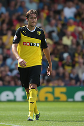 Watford's Gabriele Angella  - Photo mandatory by-line: Nigel Pitts-Drake/JMP - Tel: Mobile: 07966 386802 25/08/2013 - SPORT - FOOTBALL -Vicarage Road Stadium - Watford -  Watford v Nottingham Forest - Sky Bet Championship