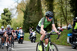 Riejanne Markus (NED) on the final lap at Amstel Gold Race - Ladies Edition 2018, a 116.9 km road race from Maastricht to Berg en Terblijt on April 15, 2018. Photo by Sean Robinson/Velofocus.com