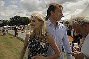 Donna Air and Damian Aspinall, Veuve Clicquot Gold Cup 2006. Final day. 23 July 2006. ONE TIME USE ONLY - DO NOT ARCHIVE  © Copyright Photograph by Dafydd Jones 66 Stockwell Park Rd. London SW9 0DA Tel 020 7733 0108 www.dafjones.com