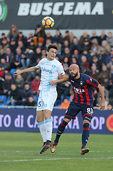 December 17, 2017 - Crotone, KR, Italy - ROBERTO INGLESE of AC Chievo Verona during the Serie A match between FC Crotone and AC Chievo Verona at Stadio Comunale Ezio Scida on December 17, 2017 in Crotone, Italy. (Credit Image: © Gabriele Maricchiolo/NurPhoto via ZUMA Press)