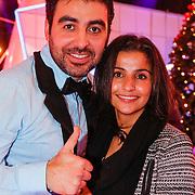 NLD/Hilversum/20130101 - 1e Liveshow Sterren dansen op het IJs 2013, Mimoun Ouled Radi en partner