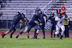 26 October 2018: Peoria Notre Dame Irishs at Normal Community West Wildcats at Normal Community West High School, Normal Illinois<br /> <br /> #bestlookmagazine #alphoto513 #IHSA #IHSAFootball