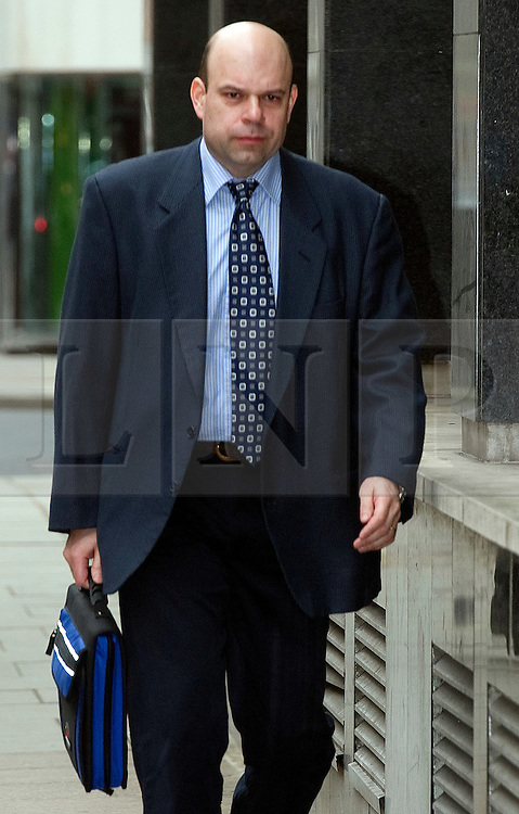 © under license to London News Pictures. 29.03.11.Guy Savage arrives at Westminster Magistrate Court for to face an extradition hearing by the US government. Savage, 34 from Pinner, North West London is accused of breaching export regulations on items including M16 assault rifles and silencers..