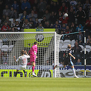 St Mirren's ,on loan from Manchester City, winger Adam Drury misses a sitter - St Mirren v Dundee, SPFL Premiership at St Mirren Park<br /> <br />  - © David Young - www.davidyoungphoto.co.uk - email: davidyoungphoto@gmail.com