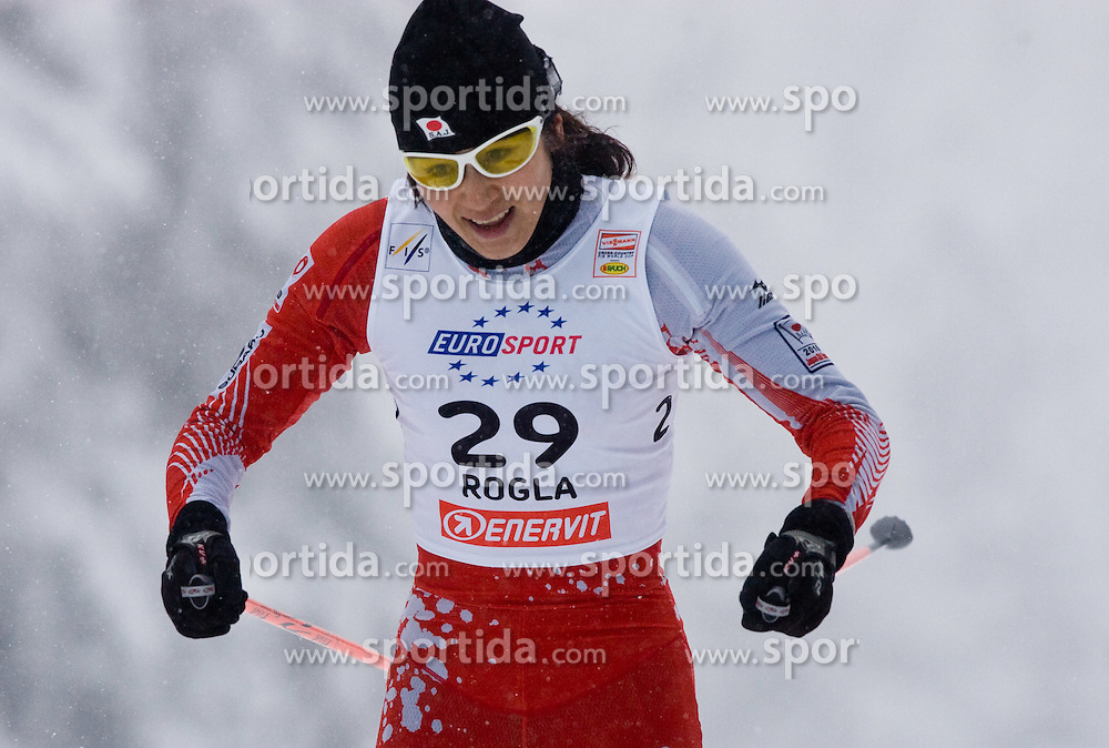 Madoka Natsumi of Japan at Ladies 1.4 km Free Sprint Competition of Viessmann Cross Country FIS World Cup Rogla 2009, on December 19, 2009, in Rogla, Slovenia. (Photo by Vid Ponikvar / Sportida)