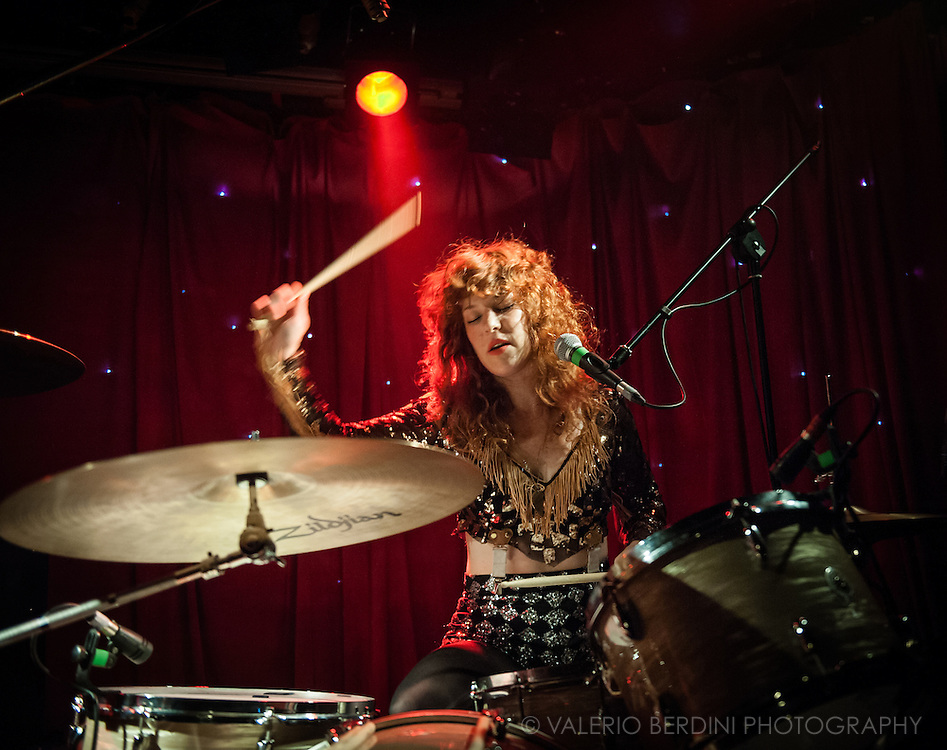 Deap Vally live at Madame Jojo's in London on 15 July 2014