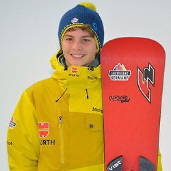 11.11.2014, MOC, München, GER, Snowboard Verband Deutschland, Einkleidung Winterkollektion 2014, im Bild Elias Huber // during the Outfitting of Snowboard Association Germany e.V. Winter Collection at the MOC in München, Germany on 2014/11/11. EXPA Pictures © 2014, PhotoCredit: EXPA/ Eibner-Pressefoto/ Buthmann<br /> <br /> *****ATTENTION - OUT of GER*****