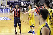 DESCRIZIONE : Ancona Lega A 2012-13 Sutor Montegranaro Angelico Biella<br /> GIOCATORE : Russell Robinson<br /> CATEGORIA : esultanza<br /> SQUADRA : Angelico Biella<br /> EVENTO : Campionato Lega A 2012-2013 <br /> GARA : Sutor Montegranaro Angelico Biella<br /> DATA : 02/12/2012<br /> SPORT : Pallacanestro <br /> AUTORE : Agenzia Ciamillo-Castoria/C.De Massis<br /> Galleria : Lega Basket A 2012-2013  <br /> Fotonotizia : Ancona Lega A 2012-13 Sutor Montegranaro Angelico Biella<br /> Predefinita :