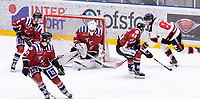 2020-01-11 | Umeå, Sweden:Close to 2-1 in AllEttan during the game  between Teg and Piteå at A3 Arena ( Photo by: Michael Lundström | Swe Press Photo )<br /> <br /> Keywords: Umeå, Hockey, AllEttan, A3 Arena, Teg, Piteå, mltp200111