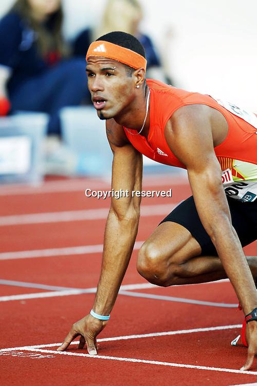 07.06.2012. Paris, France.   Diamond League Bislett Games Javier Culson  WINNER 400 metres mens Hurdles  Athletics