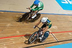 CLIFFORD Eoghan, ODENDAAL Pieter Juan, RSA, IRE, Individual Pursuit, 2015 UCI Para-Cycling Track World Championships, Apeldoorn, Netherlands