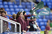 Reading, GREAT BRITAIN,  local school supporters during the EDF Energy Cup, rugby match, London Irish vs Saracens at the Madejski  Stadium, ENGLAND, 30/09/2006. [Photo, Peter Spurrier/Intersport-images]..
