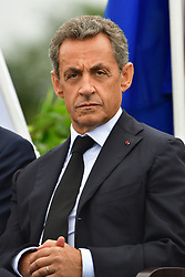 File photo - Nicolas Sarkozy during the party's Summer University on September 4, 2016 in La Baule, western France. A French judge has ordered ex-President Nicolas Sarkozy to stand trial in an illegal campaign finance case. Mr Sarkozy faces accusations that his party falsified accounts in order to hide 18m euros of campaign spending in 2012. Mr Sarkozy denies he was aware of the overspending, and will appeal against the order to stand trial. Photo by Christian Liewig/ABACAPRESS.COM