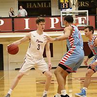Hamline vs St. John's Men's Basketball. Jeff Lawler, d3photography.com