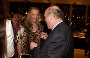 Princess Michael of Kent and Julian Fellowes. Book party for LAST VOYAGE OF THE VALENTINA by Santa Montefiore (Hodder & Stoughton) Asprey,  New Bond St. 12 April 2005. ONE TIME USE ONLY - DO NOT ARCHIVE  © Copyright Photograph by Dafydd Jones 66 Stockwell Park Rd. London SW9 0DA Tel 020 7733 0108 www.dafjones.com