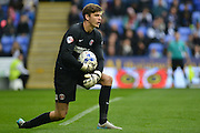 Charlton Athletic goalkeeper Nick Pope during the Sky Bet Championship match between Reading and Charlton Athletic at the Madejski Stadium, Reading, England on 17 October 2015. Photo by Mark Davies.