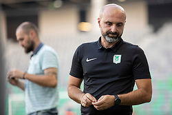 Alexandar Linta, head coach of NK Olimpija Ljubljana during 1st Leg football match between NK Olimpija Ljubljana and HJK Helsinki in 3rd Qualifying Round of UEFA Europa League 2018/19, on August 9, 2018 in SRC Stozice, Ljubljana, Slovenia. Photo by Urban Urbanc / Sportida