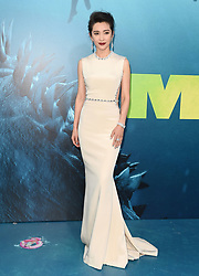 "Premiere of Warner Bros. Pictures and Gravity Pictures' ""The Meg"". TCL Chinese Theatre IMAX, Hollywood, California. Pictured: Li Bingbing. EVENT August 6, 2018. 06 Aug 2018 Pictured: Li Bingbing. Photo credit: AXELLE/BAUER-GRIFFIN/MEGA TheMegaAgency.com +1 888 505 6342"