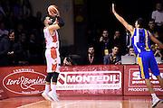 Pietro Aradori<br /> Grissin Bon Pallacanestro Reggio Emilia - Betaland Capo d' Orlando<br /> Lega Basket Serie A 2016/2017<br /> Reggio Emilia, 05/12/2016<br /> Foto Ciamillo-Castoria