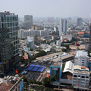 A panoramic view of  Ho Chi Minh City, Vietnam. 3rd March 2012. Photo Tim Clayton