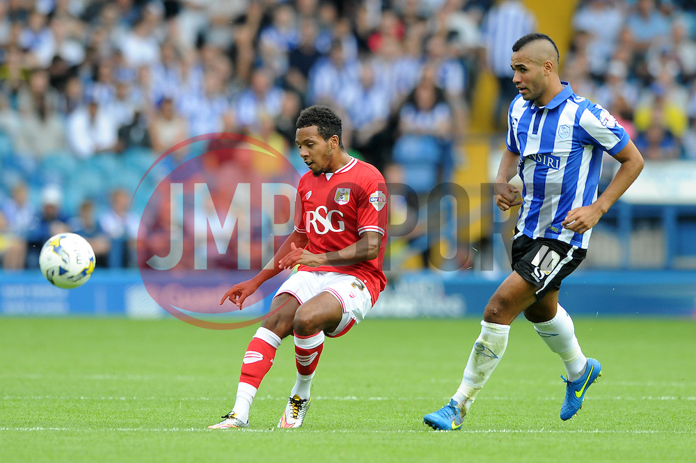 Korey Smith of Bristol City - Mandatory byline: Dougie Allward/JMP - 07966386802 - 08/08/2015 - FOOTBALL - Hillsborough Stadium -Sheffield,England - Sheffield Wednesday v Bristol City - Sky Bet Championship