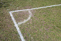 Corner of a Soccer Pitch