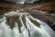 Fairy pools rapids, Glen Brittle, Isle of Skye, The Highlands, Scotland