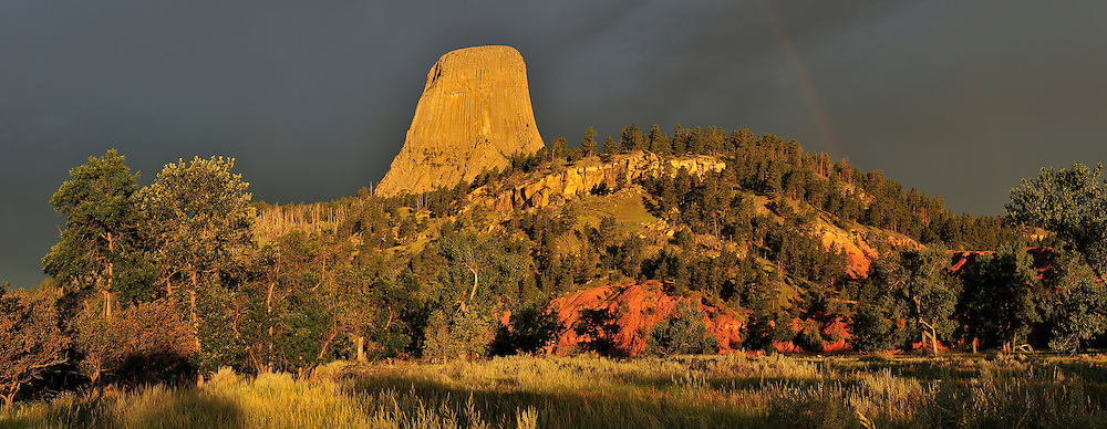 Devils Tower National Monument,Wyoming,USA