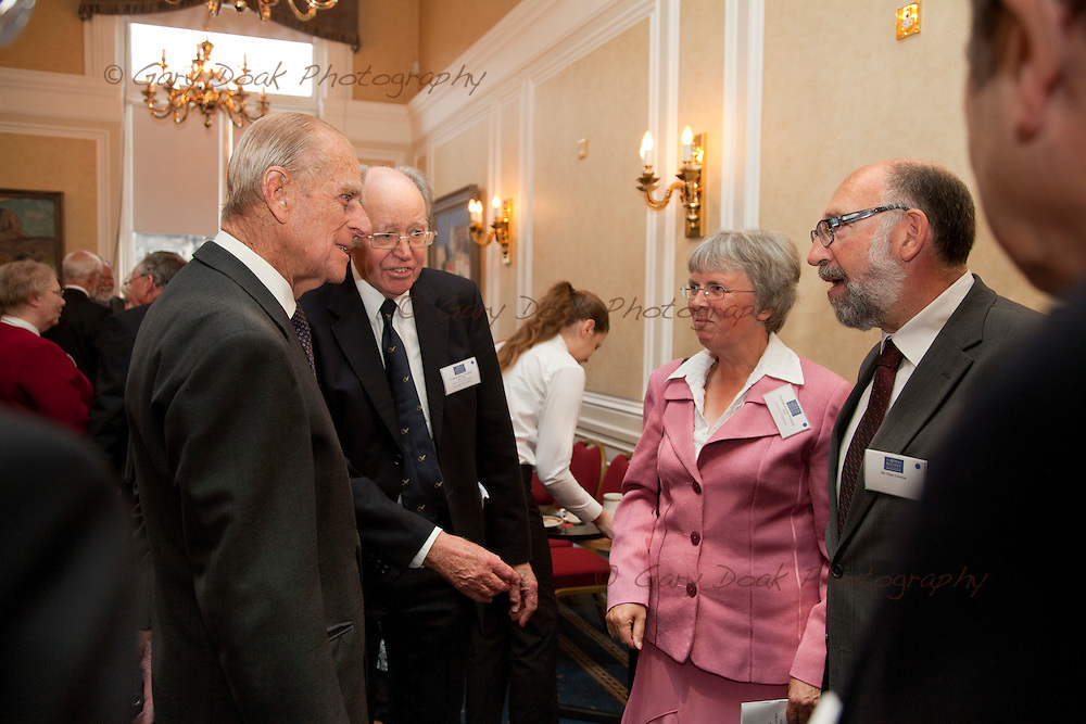 Royal Medals presentation by HRH The Duke of Edinburgh at The Royal Society of Edinburgh