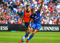Rugby Union - 2018 Guiness Pro14 - Semi-Final: Leinster vs. Munster<br /> <br /> Ross Byrne (Leinster) kicks a penalty, at RDS Arena, Dublin.<br /> <br /> COLORSPORT/KEN SUTTON