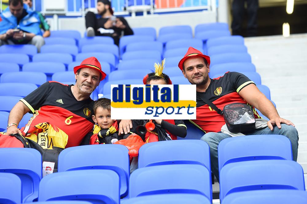 Tifosi Belgio Supporters Belgium <br /> Lyon 13-06-2016 Grand Stade de Lyon Football Euro2016 Belgium-Italy / Belgio-Italia Group Stage Group E. Foto Massimo Insabato / Insidefoto