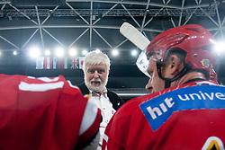 Brane Jersin during ice-hockey friendly match between legends of HDD Tilia Olimpija and HK Acroni Jesenice, on April 14, 2012 at SRC Stozice, Ljubljana, Slovenia. (Photo By Matic Klansek Velej / Sportida.com)