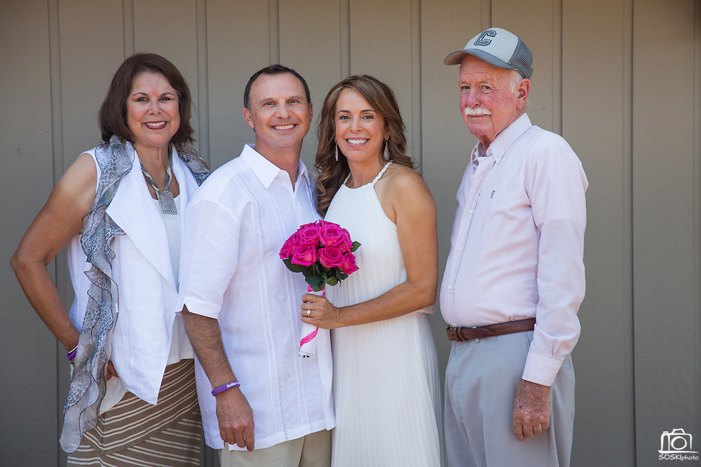 Lisa and Don celebrate their wedding with friends and family at La Rinconada Country Club in Los Gatos, California, on August 16, 2014. (Stan Olszewski/SOSKIphoto)