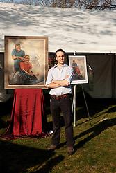 Dustin Neece, paints Hoyts
