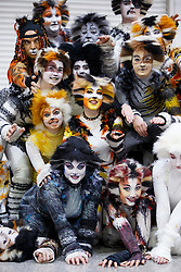© Licensed to London News Pictures. 25/10/2015. London, UK. Cosplayers dressed as cats from Cats The Musical attending the MCM London Comic Con at ExCeL Convention Centre on Sunday, 25 October 2015. Photo credit: Tolga Akmen/LNP