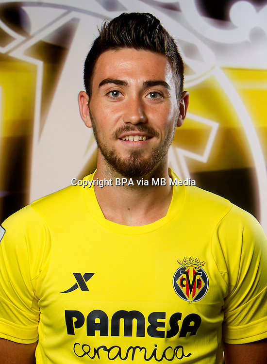 Spain - La Liga BBVA  2014-2015 / <br /> ( Villarreal C.F. ) - <br /> Moises Gomez Bordonado &quot; Moi Gomez &quot;