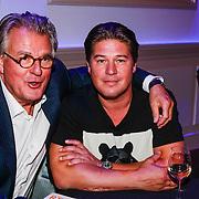 NLD/Hilversum/20130820- Najaarspresentatie RTL 2013, Martijn Krabbe en zijn vader Jeroen Krabbe