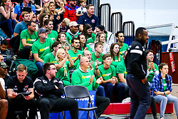 Bristol Flyers fans - Rogan/JMP - 11/10/2019 - BASKETBALL - SGS Wise Arena - Bristol, England - Bristol Flyers v Plymouth Raiders - BBL Cup.