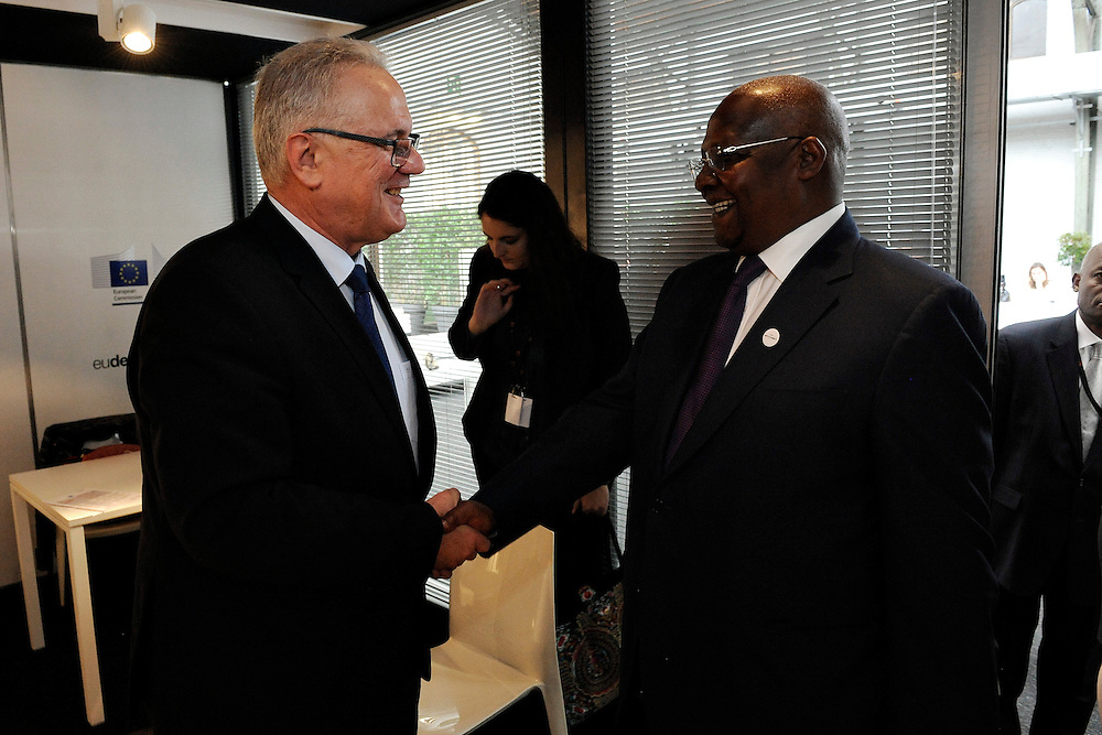 20150603- Brussels - Belgium - 03 June2015 - European Development Days - EDD  - Neven Mimica Devco and Sam Kutesa © EU/UE