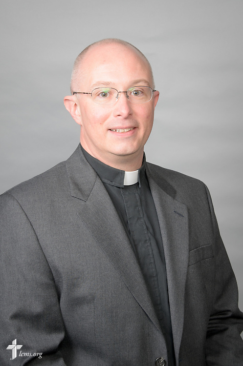 Portrait of the Rev. Dr. John W. Sias, LCMS secretary, at the International Center of The Lutheran Church—Missouri Synod on Monday, Jan. 16, 2017, in St. Louis. Frank Kohn/LCMS Communications