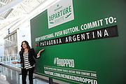 Heineken Departure Roulette at JFK Airport, Tuesday, July 9, 2013.  (Photo by Diane Bondareff/Invision for Heineken)