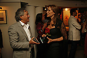 Anish  Kapoor and Andrea Dellal, Gala champagne reception and dinner in aid of CLIC Sargent.  Grosvenor House Art and Antiques Fair.  Grosvenor House. Park Lane. London. 14 June 2006. ONE TIME USE ONLY - DO NOT ARCHIVE  © Copyright Photograph by Dafydd Jones 66 Stockwell Park Rd. London SW9 0DA Tel 020 7733 0108 www.dafjones.com