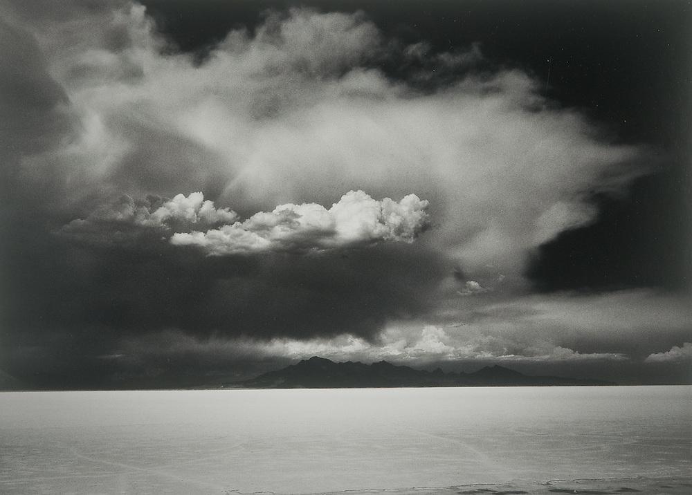 Thunderstorm, Bonneville Salt Flats