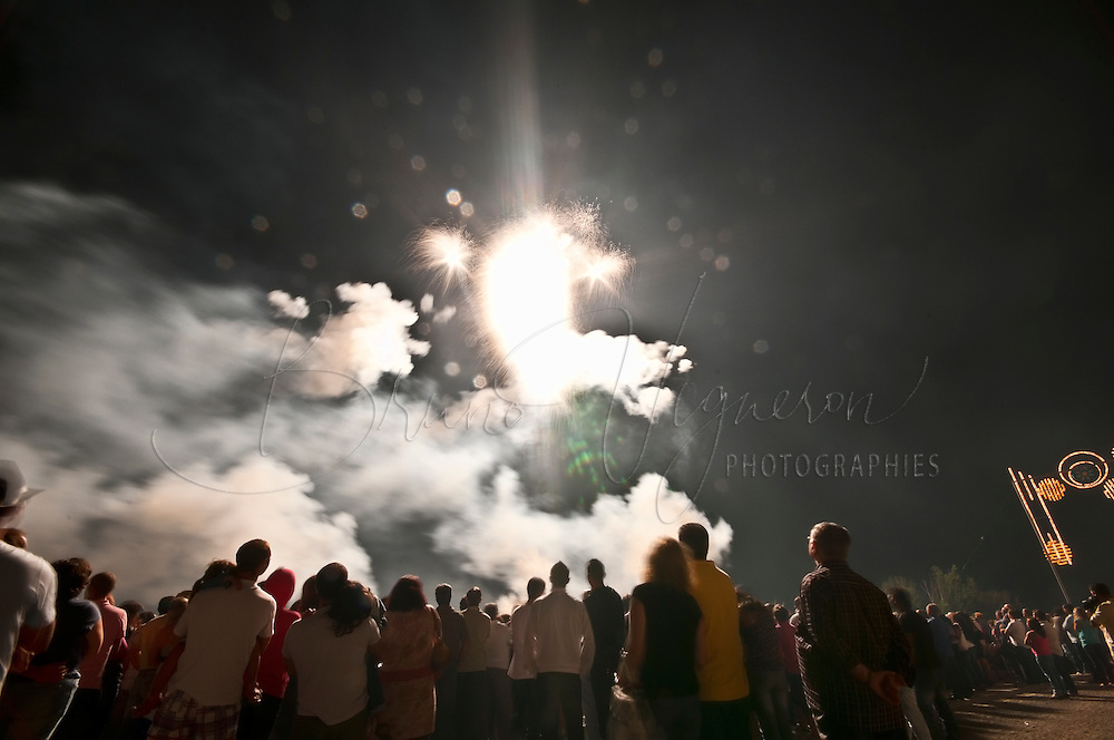 Firework in Coruche. Ribatejo, Portugal.<br /> In Portugal, several municipalities meet to organize a fireworks.