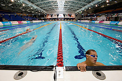 Training session in pool  at 2015 IPC Swimming World Championships -