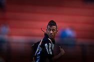 Sao Paulo, Brazil - February 20, 2011 : Neymar during the game Corinthians X Santos at Pacaembu Stadium   (Photo:Caio Guatelli)