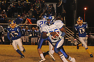 Water Valley's C.J. Jackson (26) vs. Mantachie in Mantachie, Miss. on Friday, October 28, 2011.