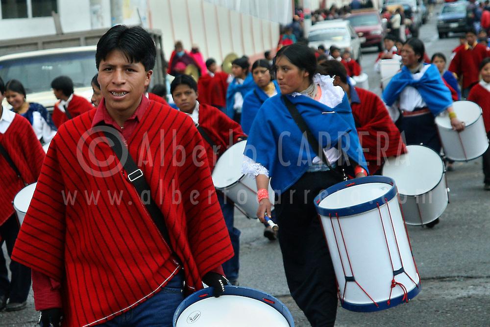 Alberto Carrera, Local People, Riobamba, Andes, Ecuador, South America, America
